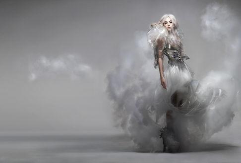 Фото Американская певица Леди Гага, by Nick Knight