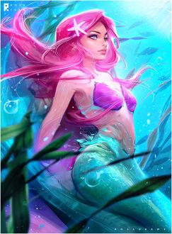 Фото Ariel / Ариэль из мультфильма The Little Mermaid / Русалочка, by rossdraws
