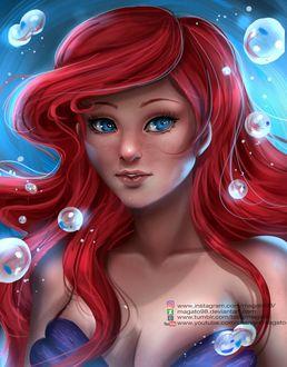 Фото Ариэль / Ariel из мультфильма Русалочка / The Little Mermaid, by magato98
