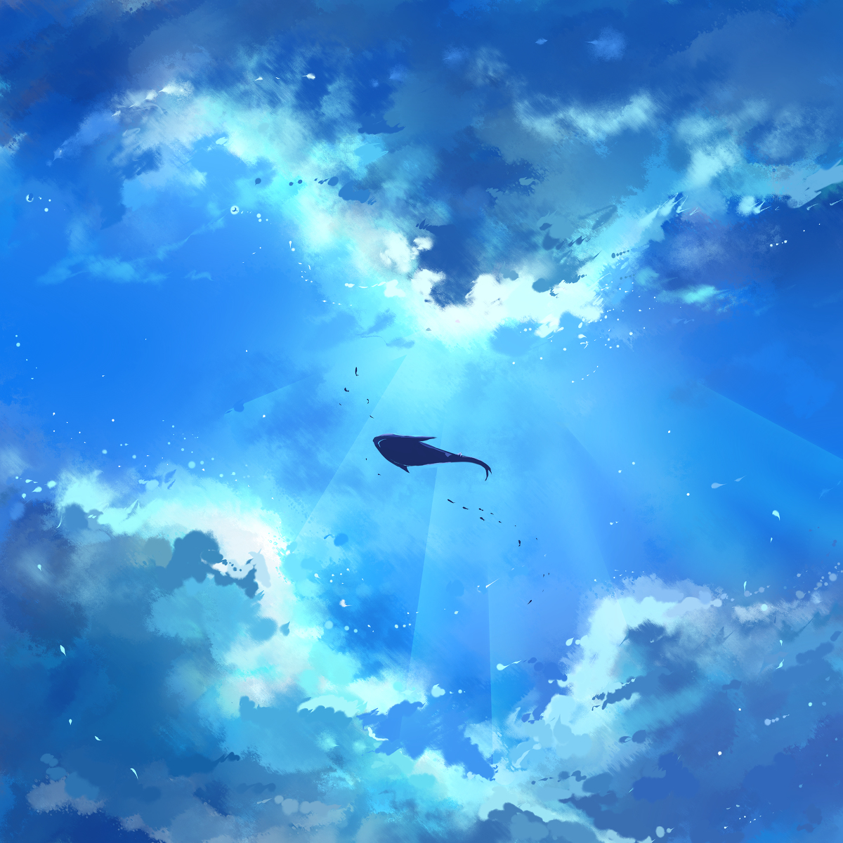 чухлома готовы картинки с китами в небе новогодних праздников