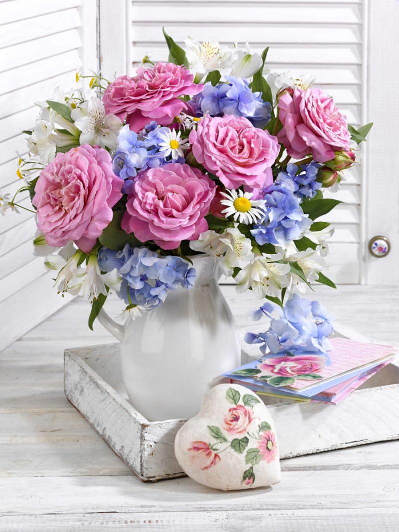 Самые нежные открытки с цветами