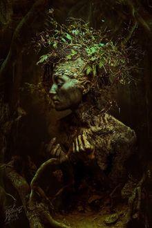 Фото Девушка вышедшая из земли, by Peter Brownz Braunschmid