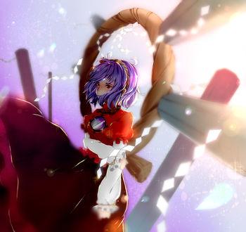 Фото Ясака Канако / Yasaka Kanako из аниме и игры Проект Восток / Touhou Project, by Minorinashi