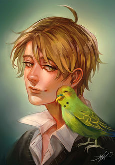 Фото Парень с попугаем на плече, by Afternoontm (© chucha), добавлено: 14.07.2017 07:02