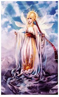 Фото Hemera / Гемера - древнегреческая богиня дневного света, олицетворявшая день, by Red-Priest-USADA