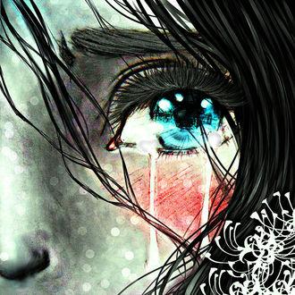 Фото Плачущий глаз девушки, by M-K-1