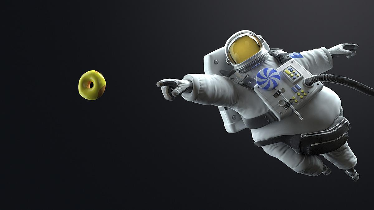 Днем рождения, прикольный картинки про космос