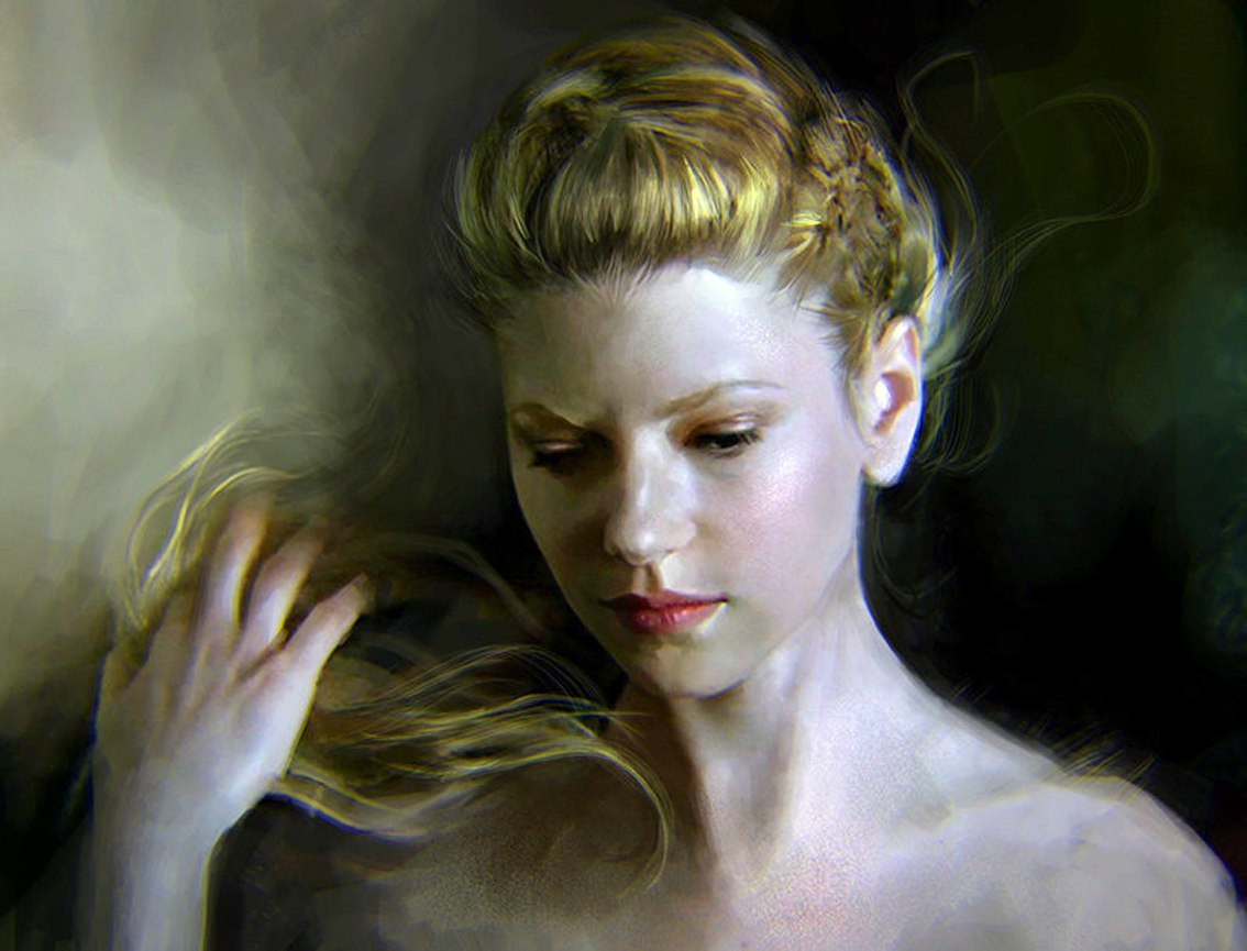 Фото Кюна Лагерта из сериала Викинги, художник Ania Mitura