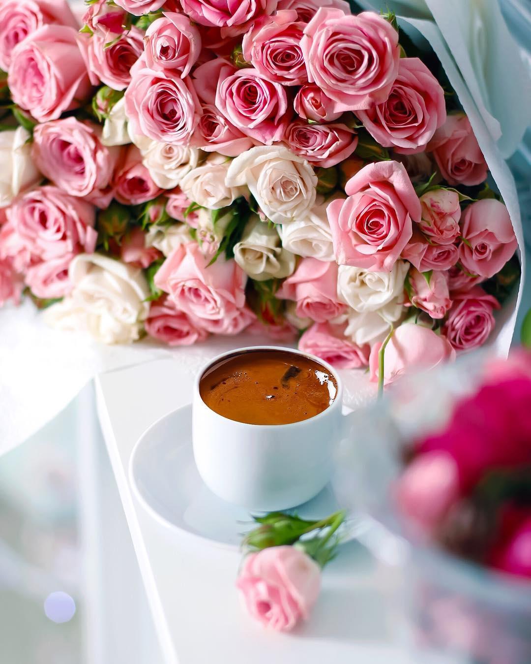 Музыкантам днем, картинки цветы и кофе красивые