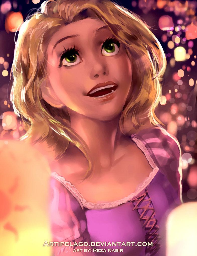 Фото Rapunzel / Рапунцель из мультфильма Tangled / Рапунцель запутанная история, by Artipelago