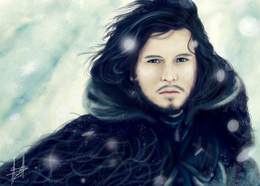 Фото Jon Snow / Джон Сноу из сериала Game Of Trones / Игра Престолов, by charychu