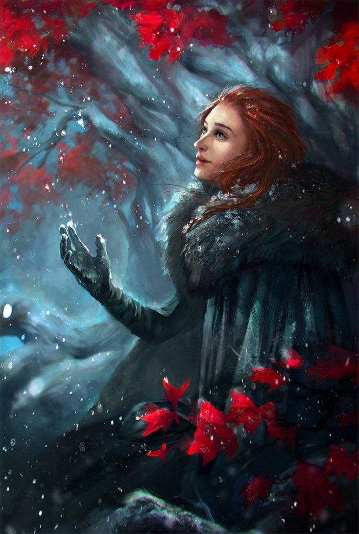 Фото Sansa Stark / Санса Старк из сериала Game Of Trones / Игра Престолов, by ValeryNeith