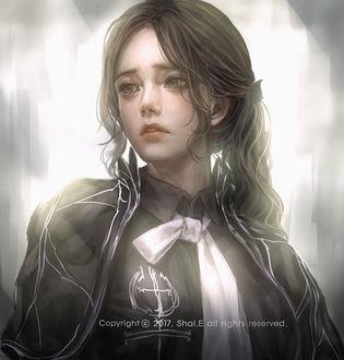 Фото Портрет грустной девушки, by Shal. E