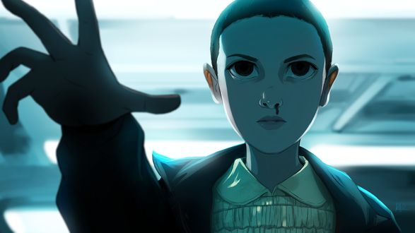 Фото Персонаж сериала «Очень странные дела», Eleven- Stranger Things / Одиннадцать странных вещей, by KalaSketch