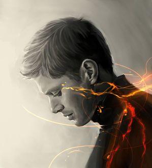 Фото Актер Jensen Ross Ackles / Дженсен Эклс в роли Dean Winchester / Дина Венчестера, сериал Supernatural / Сверхъестественное, by Bran1313