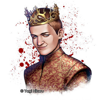 Фото Joffrey Baratheon / Джофри Баратеон из сериала Game Of Trones / Игра Престолов, by yagihikaru