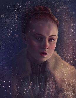 Фото Sansa Stark / Санса Старк из сериала Game Of Trones / Игра Престолов, by Sandramalie