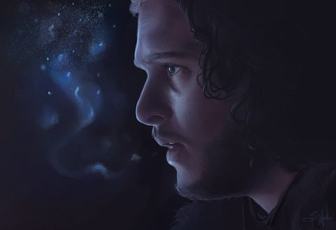 Фото Jon Snow / Джон Сноу из сериала Game Of Trones / Игра Престолов, by Sandramalie