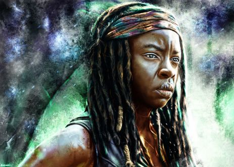 Фото Michonne / Мишонн из сериала The Walking Dead / Ходячие мертвецы, by p1xer
