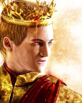 Фото Joffrey Baratheon / Джофри Баратеон из сериала Game Of Trones / Игра Престолов, by p1xer