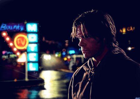 Фото Sam Winchester / Сэм Винчестер из сериала Supernatural / Сверхъестественное, by p1xer