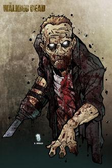 Фото Зомби Merle Dixon / Мерл Диксон из сериала The Walking Dead / Ходячие мертвецы, by Dany-Morales