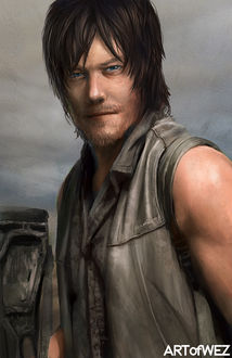 Фото Daryl Dixon / Дэрил Диксон из сериала The Walking Dead / Ходячие мертвецы, by W-E-Z