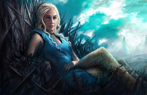 Фото Daenerys Targaryen / Дейнерис Таргариен из сериала Game Of Trones / Игра Престолов, by W-E-Z