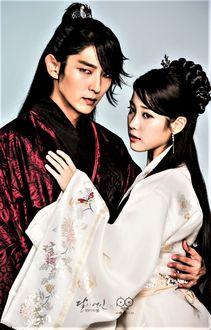 Фото Кван Джон и Хэ Су из дорамы Алые сердца: Коре (актеры Ли Джун Ги и Айю)