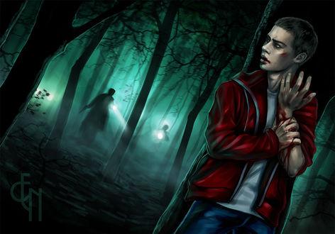 Фото Stiles Stilinski / Стайлз Стилински из сериала Teen Wolf / Волчонок, by Eneada