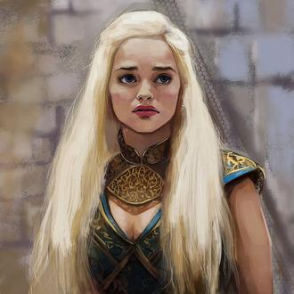 Фото Daenerys Targaryen / Дейнерис Таргариен из сериала Game Of Trones / Игра Престолов, by PolliPo