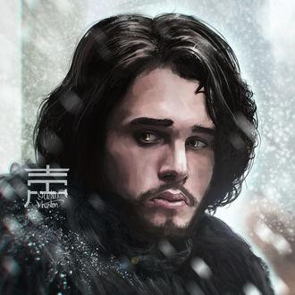 Фото Jon Snow / Джон Сноу из сериала Game Of Trones / Игра Престолов, by justinwharton