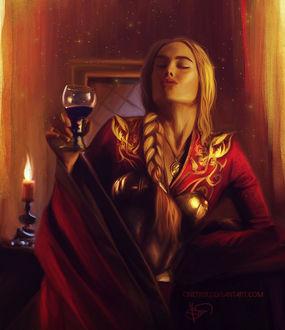Фото Cersei Lannister / Серсея Ланнистер из сериала Game Of Trones / Игра Престолов, by cinetrix