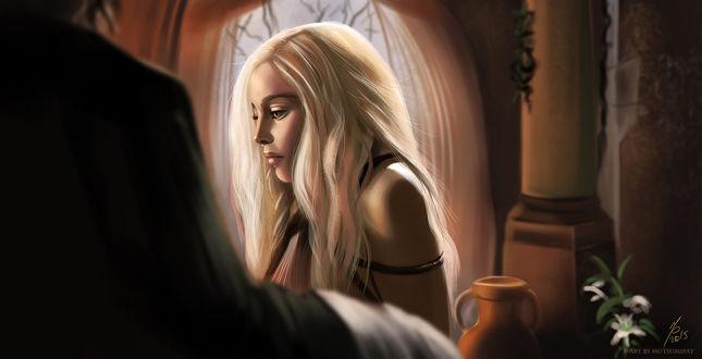 Фото Daenerys Targaryen / Дейнерис Таргариен из сериала Game Of Trones / Игра Престолов, by Mutsumipat