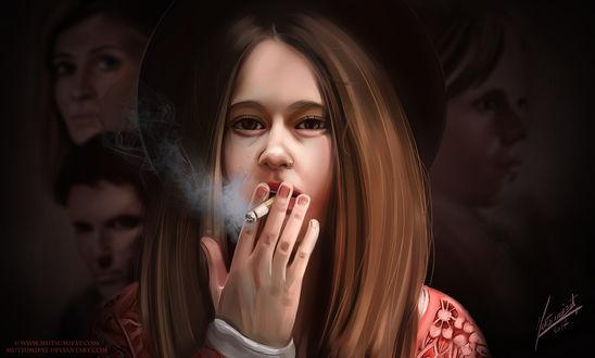 Фото Violet Harmon / Вайолет Хармон из сериала American Horror Story / Американская История Ужасов, by Mutsumipat