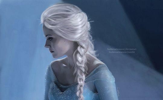 Фото Elsa / Эльза из сериала Once Upon a Time / Однажды в сказке, by LindaMarieAnson