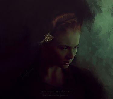 Фото Sansa Stark / Санса Старк из сериала Game Of Trones / Игра Престолов, by LindaMarieAnson
