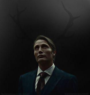 Фото Hannibal Lecter / Ганнибал Лектер из сериала Hannibal / Ганнибал, by LindaMarieAnson