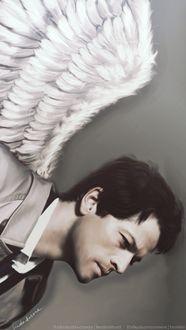 Фото Castiel / Кастиэль из сериала Supernatural / Сверхъестественное, by LindaMarieAnson