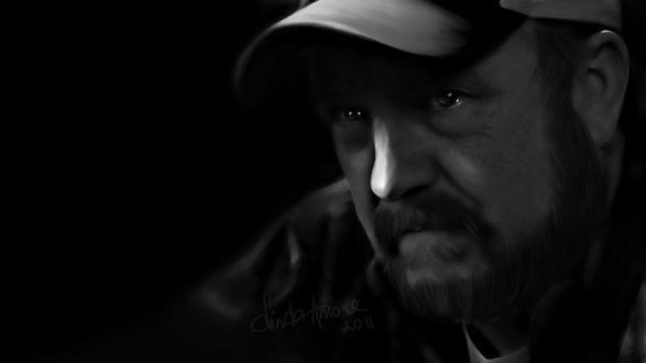 Фото Bobby Singer / Бобби Сингер из сериала Supernatural / Сверхъестественное, by LindaMarieAnson