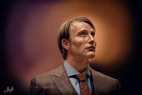 Фото Hannibal Lecter / Ганнибал Лектер из сериала Hannibal / Ганнибал, by Frodos