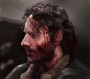 Фото Rick Grimes / Рик Граймс из сериала The Walking Dead / Ходячие мертвецы, by maXKennedy