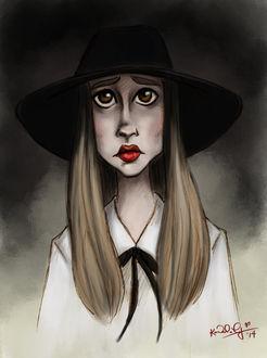 Фото Zoe Benson / Зои Бенсон из сериала American Horror Story / Американская История Ужасов, by TottieWoodstock