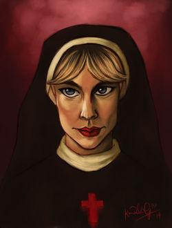 Фото Sister Mary Eunice / Сестра Мэри Юнис из сериала American Horror Story / Американская История Ужасов, by TottieWoodstock