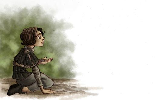 Фото Arya Stark / Арья Старк из сериала Game Of Trones / Игра Престолов, by TottieWoodstock