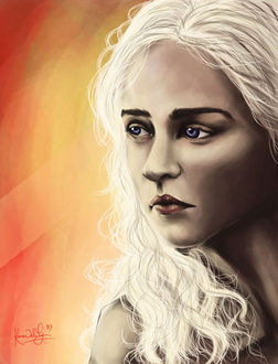 Фото Daenerys Targaryen / Дейнерис Таргариен из сериала Game Of Trones / Игра Престолов, by TottieWoodstock