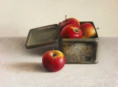 Фото Коробка с яблоками, by josvanr