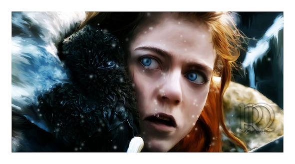Фото Ygritte / Игритт из сериала Game Of Trones / Игра Престолов, by RottonNymph
