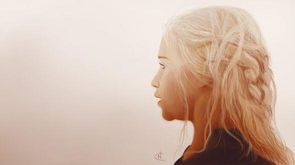 Фото Daenerys Targaryen / Дейнерис Таргариен из сериала Game Of Trones / Игра Престолов, by OctopusTimelord