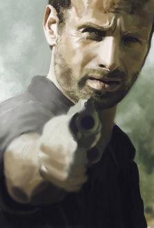 Фото Rick Grimes / Рик Граймс из сериала The Walking Dead / Ходячие мертвецы, by s3lwyn